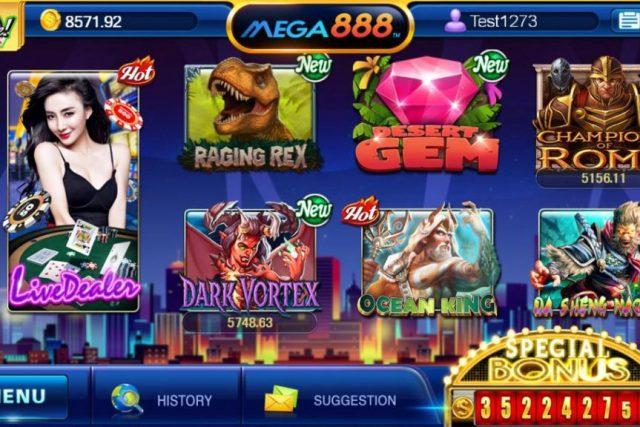 Benefits Of Mega888 Online Slots In 2020